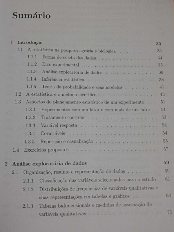 Estatística para as Ciências Agrárias e Biológicas